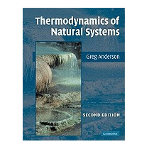 Thermodynamics Of Natural Systems (revised), Greg M Anderson
