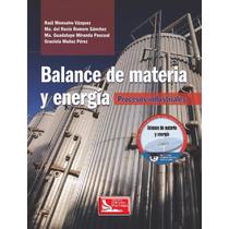 Balance De Materia Y Energía Pdf