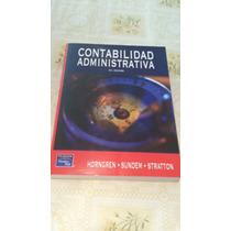 Contabilidad Administrativa 13a Edicion Horngren-sundem