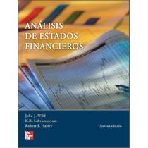 Análisis De Estados Financieros Pdf