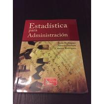 Estadística Para Administración