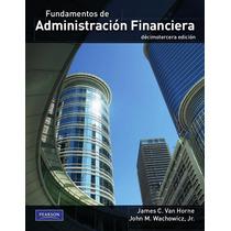 Fundamentos De Administracion Financiera Van Horne 13