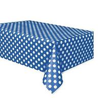 Unique Industries Inc. - Azul Y Blanco Puntea Plástico Mante