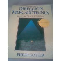Mercadotecnia Análisis Direcion De Implementa Libro