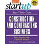 Start Your Own Construction And, Entrepreneur Press