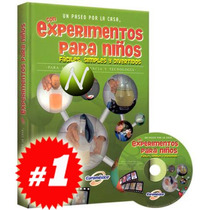 Experimentos Para Niños 1 Vol + 1 Cd Rom