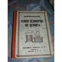 Libro Curso Elemental De Quimica, R. Dominguez, 1962