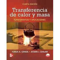 Transferencia De Calor Y Masa Pdf