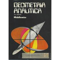 Libro Geometría Analítica / Middlemiss
