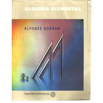 Álgebra Elemental Alfonse Gobran
