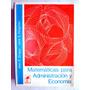 Matematicas Para Administración Y Economía. Jean E. Draper