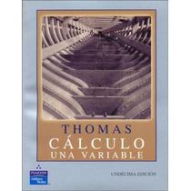 Calculo Una Variable Unidecima Edicion
