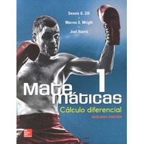 Libro Matematicas 1 Calculo Diferencial De Dennis G. Zill