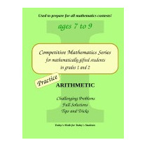 Practice Arithmetic: Level 1 (ages 7 To 9), Cleo Borac