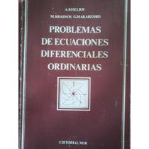 Problemas De Ecuaciones Diferenciales Ordinarias, M. Krasnov