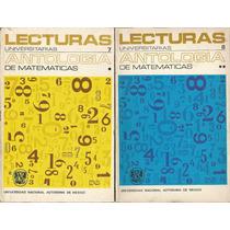 Antología De Matemáticas. Miguel Lara Aparicio. Unam.