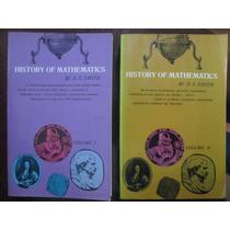 Historia De Las Matemáticas 2 Tomos - David Smith Dover
