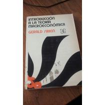 Introducción A La Teoría Macroeconómica - Gerald Sirkin