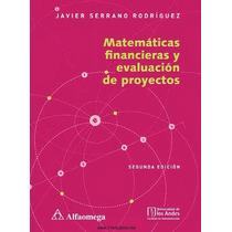 Matemáticas Financieras Y Evaluación De Proyectos Pdf