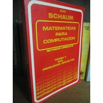 Matemáticas Para Computación - Seymour Lipschutz Schaum