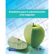 Estadística Para Administración Y Negocios Pdf