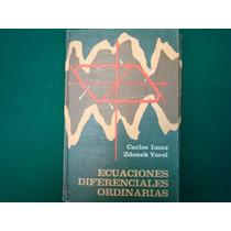 Carlos Imaz, Ecuaciones Diferenciales Ordinarias