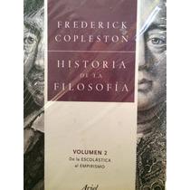 Historia De La Filosofía Frederic Copleston Volumen Dos