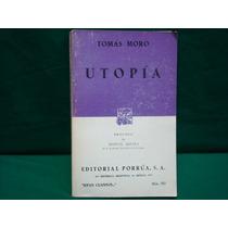 Tomás Moro, Utopía.