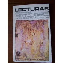 Textos De Lengua Y Literatura-antología-unam-mn4