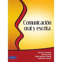Comunicación Oral Y Escrita Pdf