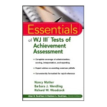 Essentials Of Wj Iii Tests Of Achievement, Nancy Mather