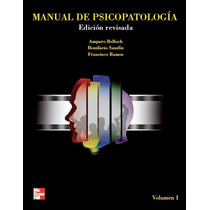Libro De Psicopatología ¿ Belloch, Sandín, Ramos