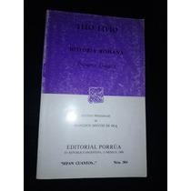 Tito Livio Historia Romana Primera Decada