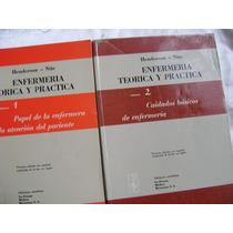 Enfermeria Teorica Y Practica. Henderson Y Nite. 4 Vol. $599