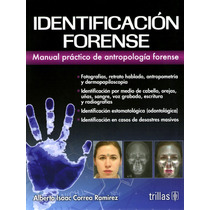 Correa Identificación Forense Manual Práctico De Antropologí