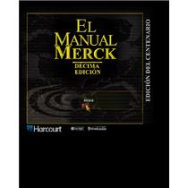 Libro El Manual Merck. Décima Edición