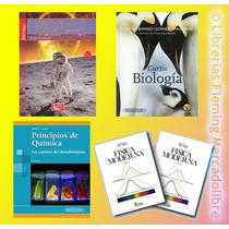 Envio Gratis: Pack Física + Biología Curtis + Química Atkins