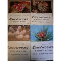Cactaceas Y Suculentas Mexicanas Revista 4 #s 1983-88 Op4