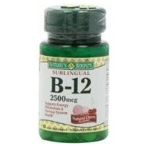 Obsequio De La Naturaleza Sublingual La Vitamina B-12 2500mc