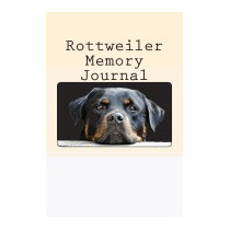 Rottweiler Memory Journal: A Personal Dog, Debbie Miller