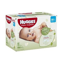 Huggies Natural Care Bebé Wipes Refill 552 Conde