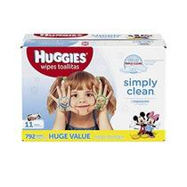 Huggies Simply Clean Sin Fragancia Recarga Bebé Toallitas 79