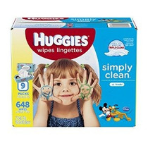 Huggies Simply Clean Bebé Toallitas Soft Pack De 648 Conde-e