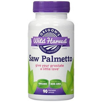 Orgánica Saw Palmetto - Prostate Support 90 Caps (de Oregón