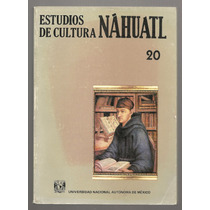 Estudios De Cultura Náhuatl, Tomo 20