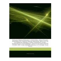 Articles On Banaras Hindu University,, Hephaestus Books
