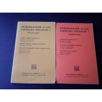 Introducción A Las Ciencias Sociales (2 Tomos)