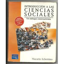 Introducción A Las Ciencias Sociales, Un Enfoque Constructiv