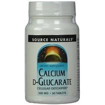 Source Naturals Calcio D-glucarato 500mg 60 Comprimidos