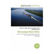 Mississippi River Delta, Frederic P Miller